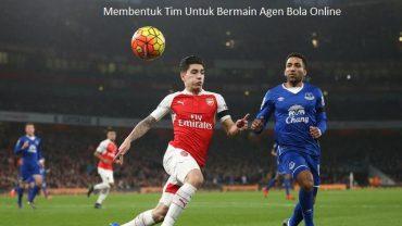 Membentuk Tim Untuk Bermain Agen Bola Online